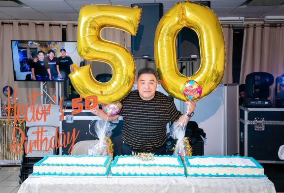 Hector's 50th Birthday ~ surprise celebration ~ Highlights